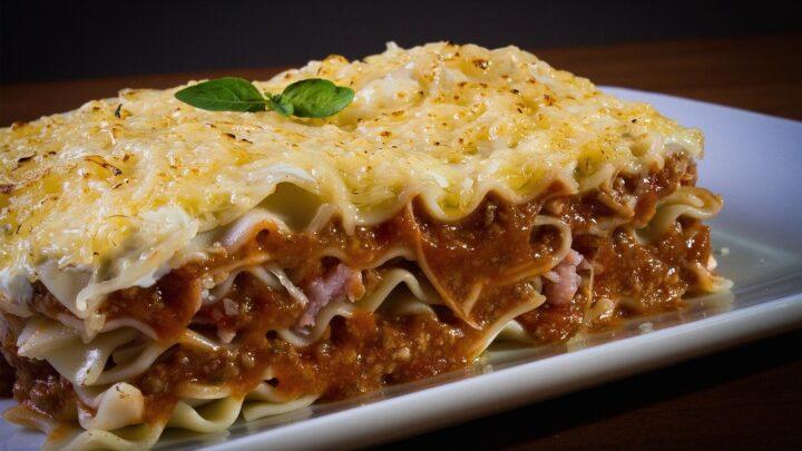 Opskrift på cremet, lækker lasagne